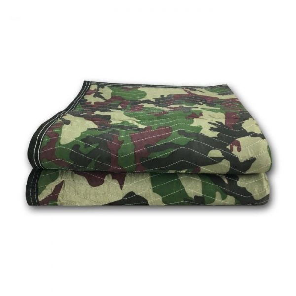 CAMO MOVING BLANKETS 65LBS/DOZ (2 PACK)