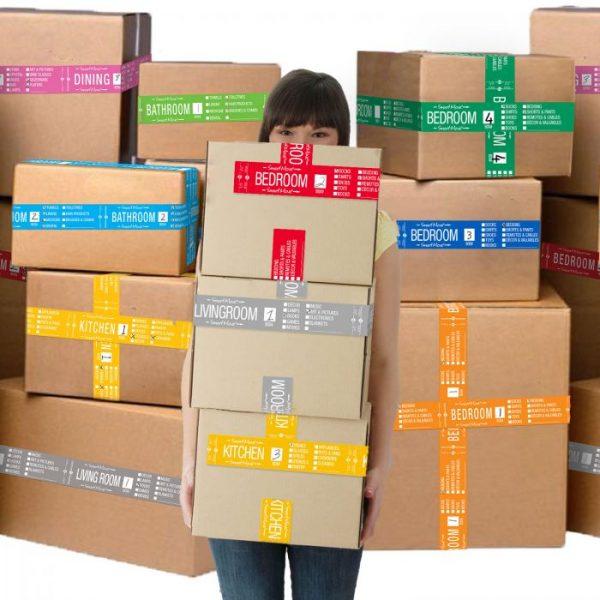 BIGGER BOXES - SMART MOVING KIT #4