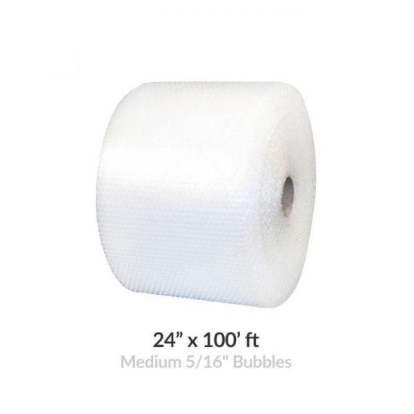 "MEDIUM BUBBLE ROLL - 100' X 24"" WIDE"
