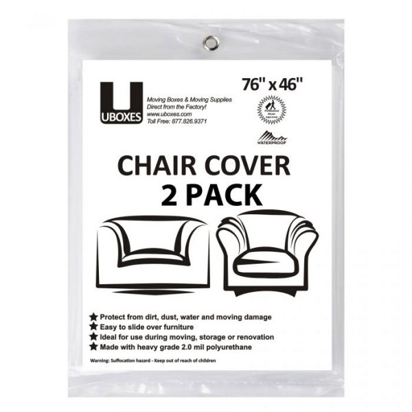 CHAIR COVER - 2 PK