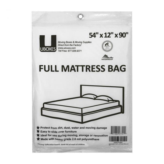 Full Mattress Cover 2pk Moving Supplies Boxesstore