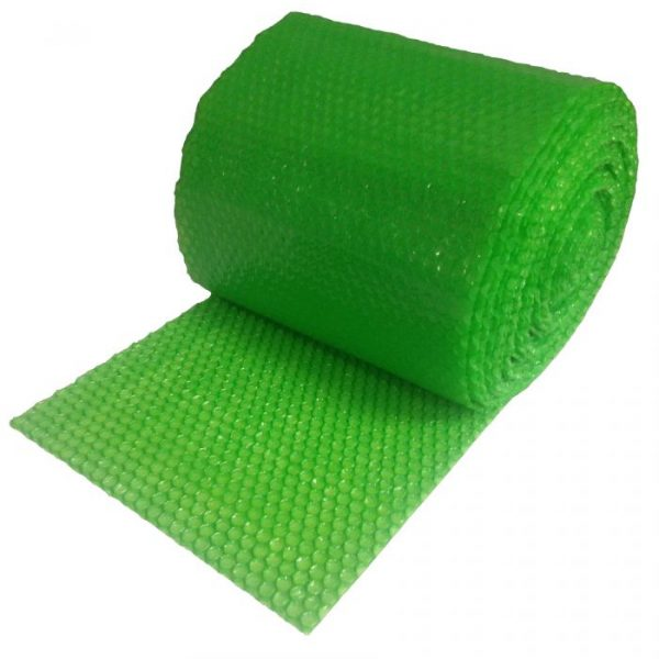 "GREEN BUBBLE SMALL 3/16"" - 60' ROLL X 12"" WIDE"