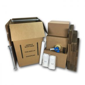 WARDROBE MOVING BOXES KIT #2