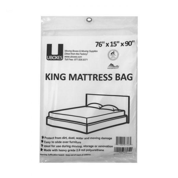 KING MATTRESS COVER - 1 PK