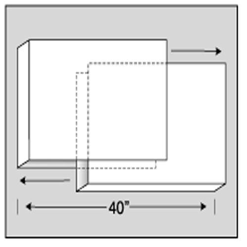 "PICTURE BOXES 8 SETS (6)30X40"" (2)40X60"""