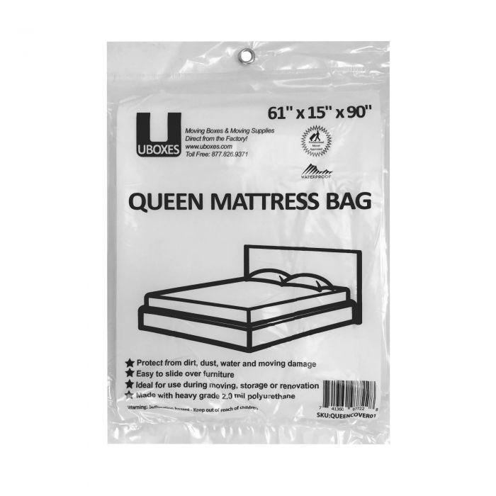 Queen Mattress Cover 1pk Moving Supplies Boxesstore
