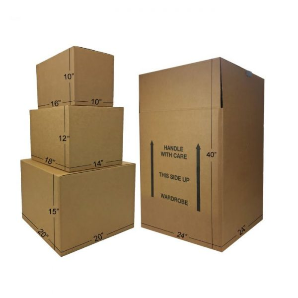 WARDROBE MOVING BOXES KIT #1